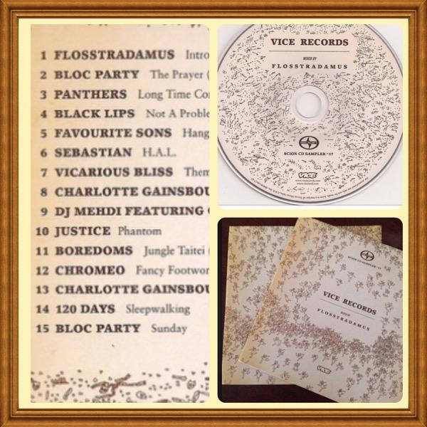 Scion Music CD Sampler Vice Records VOL. 17 DJ Flosstradamus (Electronic, Rock, Funk/Soul, Pop) #AAU-AM-SCI-CDS-100-17