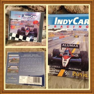 IndyCar Racing Game CD-Rom #AAU-AM-RG-100-08-1