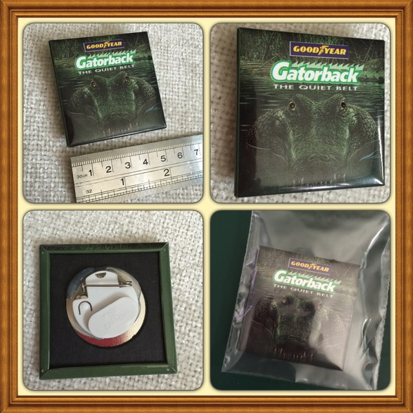 Goodyear Gatorback Promotional Pin #AAU-AM-BUT-105